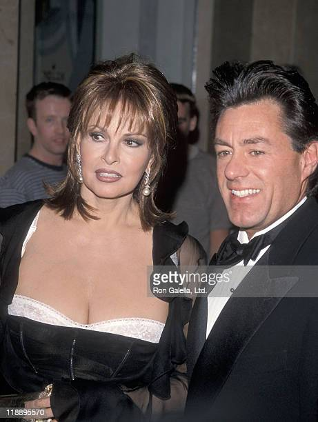 Actress Raquel Welch and boyfriend Richard Palmer attend the American Cinema Editors' 49th Annual EDDIE Awards on March 13 1999 at Beverly Hilton...