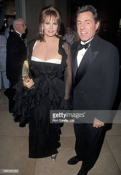 Actress Raquel Welch and boyfriend Richard Palmer attend the American Cinema Editors' 49th Annual EDDIE Awards on March 13, 1999 at Beverly Hilton...