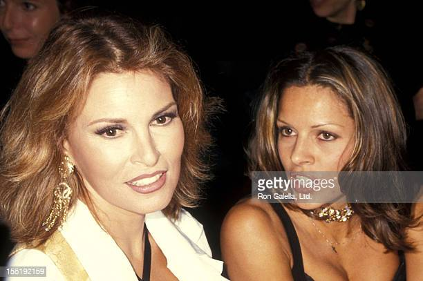 Actress Raquel Welch and daughter Tahnee Welch attend The Actors Studio Celebrity Auction to Benefit The Actors Studio on September 20 1993 at...