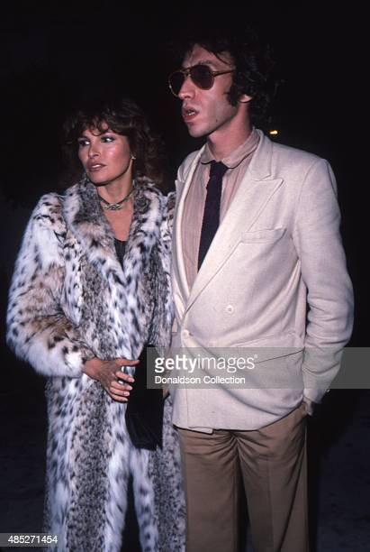 Actress Raquel Welch and her husband director Andre Weinfeld attend an event in April 1980 in Los Angeles California