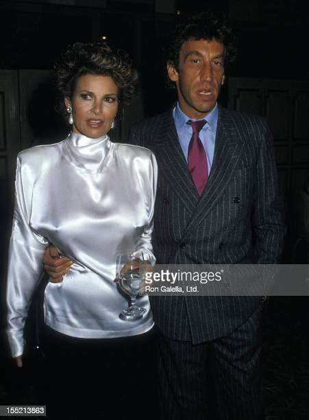 Actress Raquel Welch and husband Andre Weinfeld attend the Literacy Volunteers of New York City's Dinner/Dance Gala to Raises Funds for Adult...