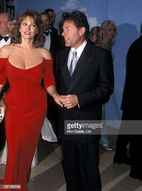 Actress Raquel Welch and husband Richard Palmer attend the 2000 Carousel of Hope Ball to Benefit the Barbara Davis Center for Childhood Diabetes on...