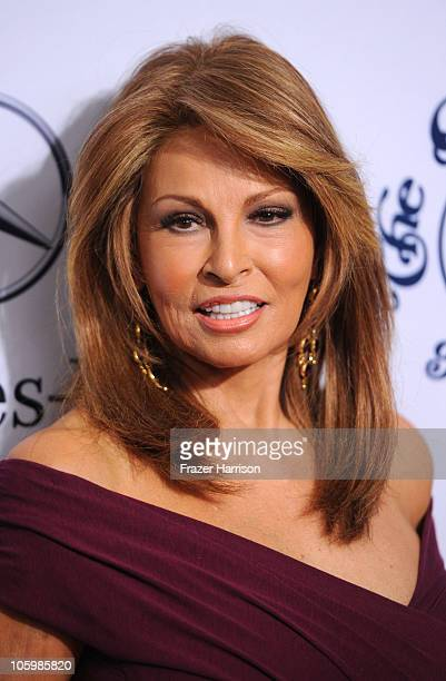Actress Raquel Welch arrives at the 32nd Anniversary Carousel Of Hope Gala at the Beverly Hilton Hotel on October 23 2010 in Beverly Hills California