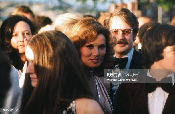 Actress Raquel Welch arrives to the 46th Academy Awards at Dorothy Chandler Pavilion in Los AngelesCalifornia