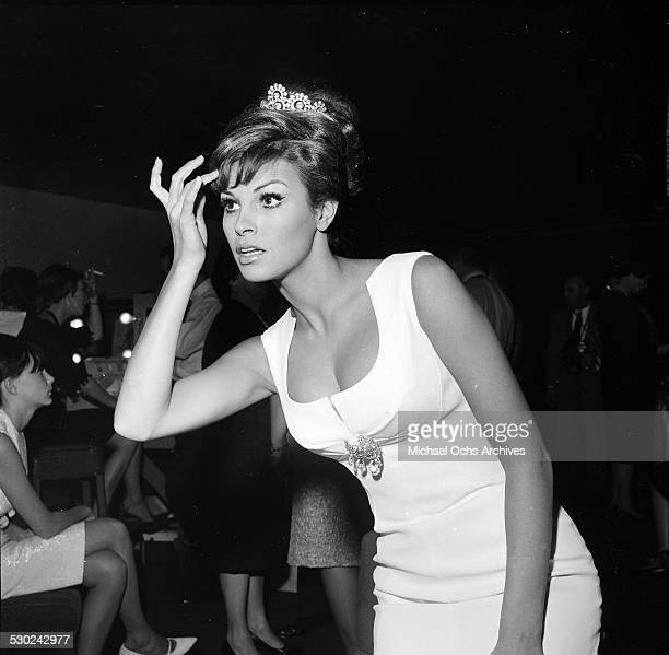 Actress Raquel Welch attends an event in Los Angeles,CA.