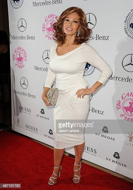 Actress Raquel Welch attends the 2014 Carousel of Hope Ball at The Beverly Hilton Hotel on October 11 2014 in Beverly Hills California