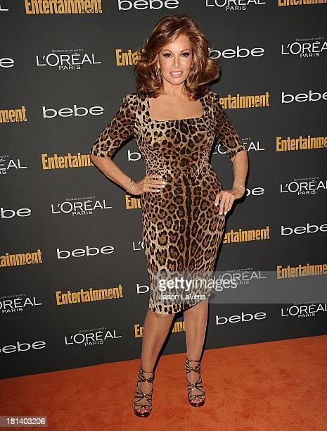 Actress Raquel Welch attends the Entertainment Weekly preEmmy party at Fig Olive Melrose Place on September 20 2013 in West Hollywood California