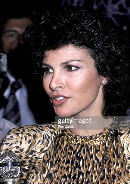 Actress Raquel Welch attends the First Annual American Film Market After Party on March 24 1981 at Samuel Goldwyn Studios in West Hollywood California