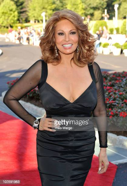 Actress Raquel Welch attends The Greenbrier for the gala opening of the Casino Club on July 2, 2010 in White Sulphur Springs, West Virginia.