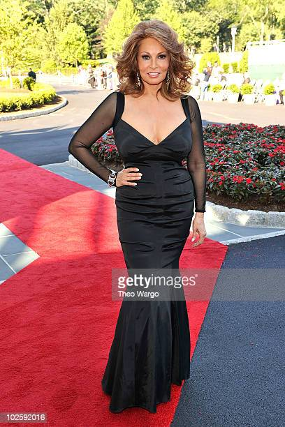 Actress Raquel Welch attends The Greenbrier for the gala opening of the Casino Club on July 2 2010 in White Sulphur Springs West Virginia