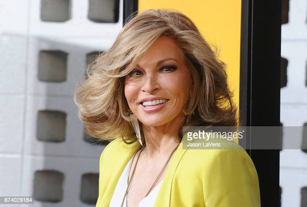 Actress Raquel Welch attends the premiere of How to Be a Latin Lover at ArcLight Cinemas Cinerama Dome on April 26 2017 in Hollywood California