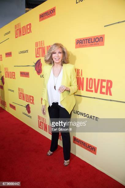 Actress Raquel Welch attends the Premiere Of Pantelion Films 'How To Be A Latin Lover' at ArcLight Cinemas Cinerama Dome on April 26 2017 in...