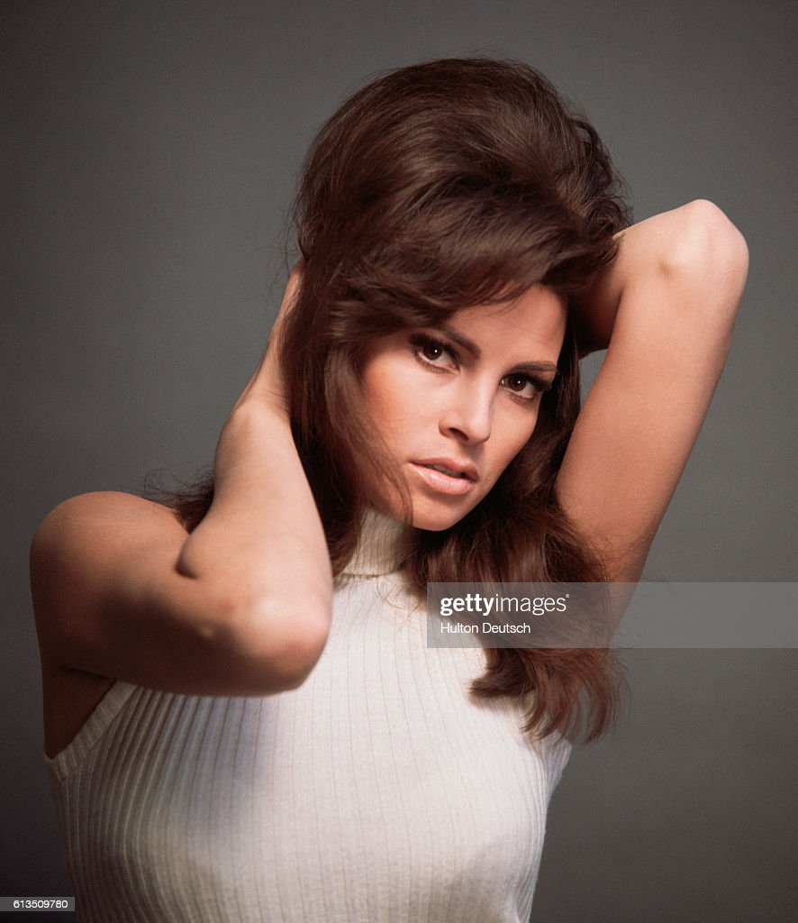 Actress Raquel Welch, 1968 : News Photo