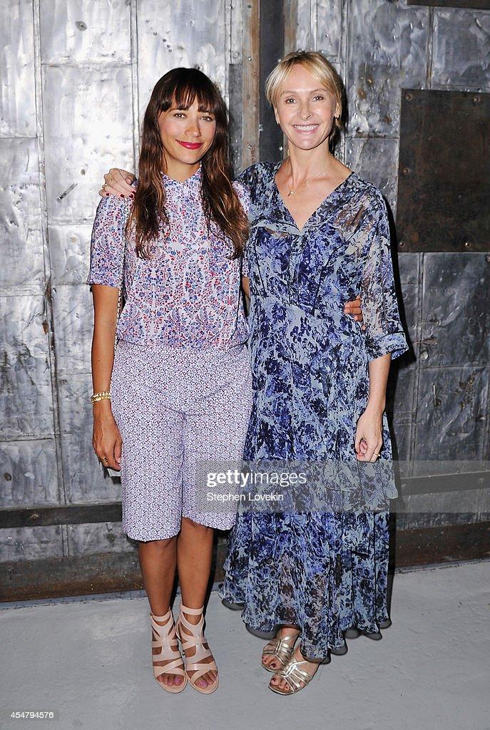 Rebecca Taylor - Backstage - Mercedes-Benz Fashion Week Spring 2015
