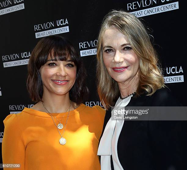 Actress Rashida Jones and mother actress Peggy Lipton attend Revlon's Annual Philanthropic Luncheon at Chateau Marmont on September 27 2016 in Los...