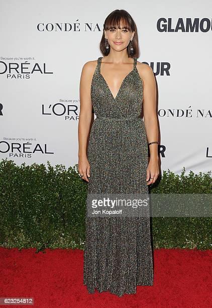 Actress Rashida Jones arrives at Glamour Women Of The Year 2016 at NeueHouse Hollywood on November 14 2016 in Los Angeles California
