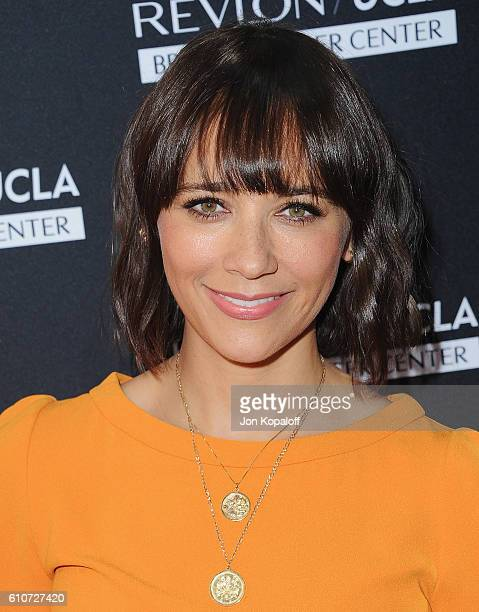 Actress Rashida Jones arrives at Revlon's Annual Philanthropic Luncheon at Chateau Marmont on September 27, 2016 in Los Angeles, California.