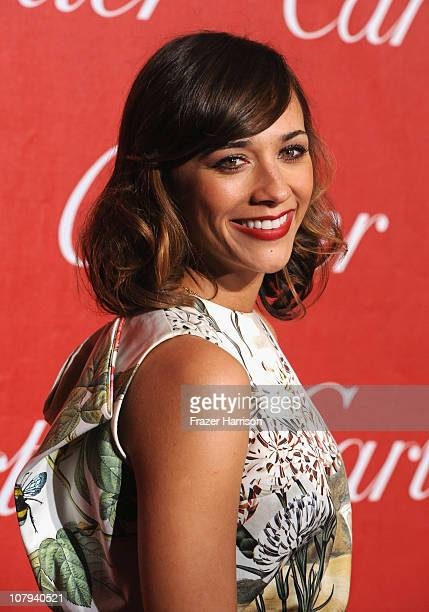 Actress Rashida Jones arrives at the 2011 Palm Springs International Film Festival Awards Gala at the Palm Springs Convention Centre on January 8...