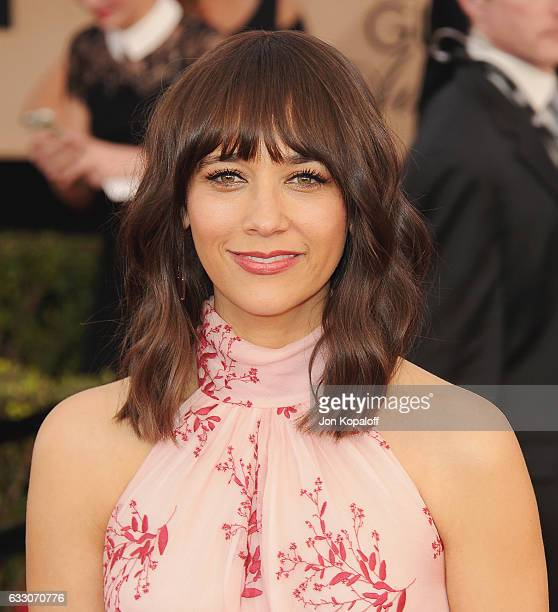 Actress Rashida Jones arrives at the 23rd Annual Screen Actors Guild Awards at The Shrine Expo Hall on January 29 2017 in Los Angeles California