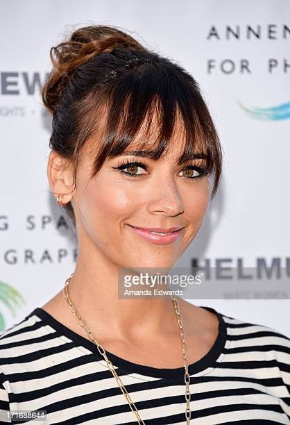 Actress Rashida Jones arrives at The Annenberg Space For Photography exhibit opening for 'Helmut Newton White Women Sleepless Nights Big Nudes' at...