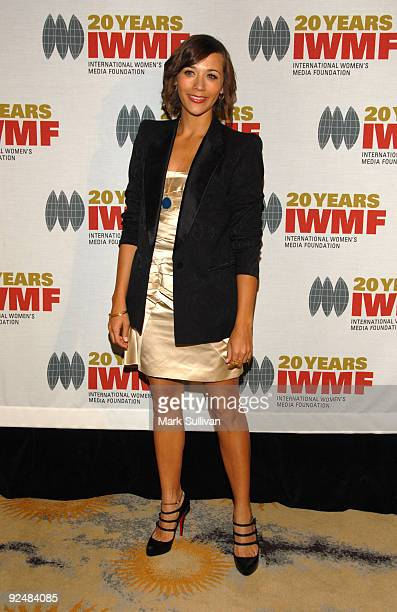 Actress Rashida Jones arrives at The International Women's Media Foundation's Courage In Journalism Awards held at the Beverly Hills Hotel on October...