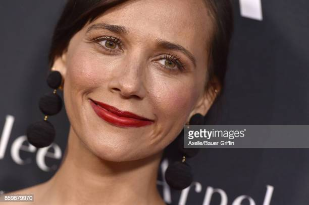 Actress Rashida Jones arrives at the L.A. Dance Project's Annual Gala at L.A. Dance Project on October 7, 2017 in Los Angeles, California.