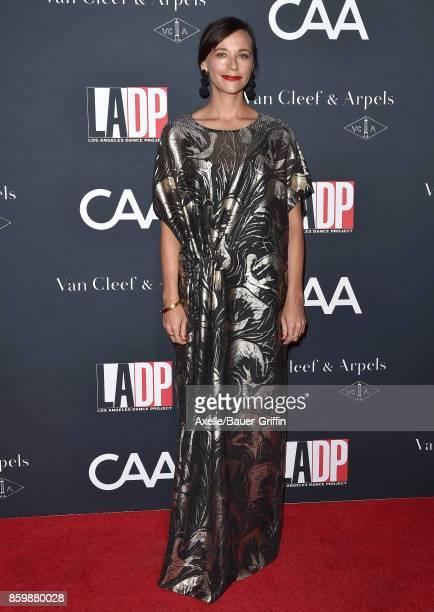Actress Rashida Jones arrives at the LA Dance Project's Annual Gala at LA Dance Project on October 7 2017 in Los Angeles California