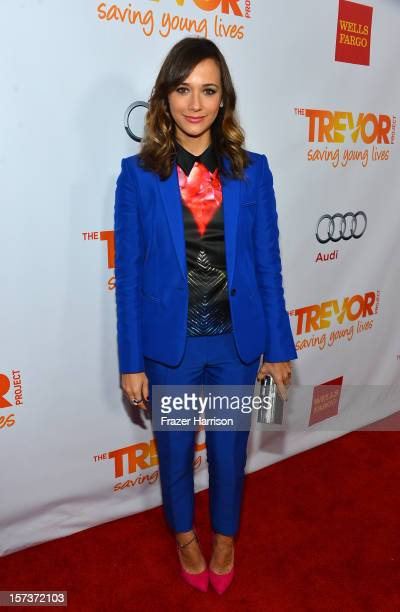 Actress Rashida Jones arrives at 'Trevor Live' honoring Katy Perry and Audi of America for The Trevor Project held at The Hollywood Palladium on...