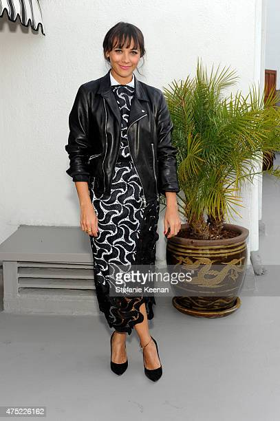 Actress Rashida Jones attends a dinner to celebrate Glamour's June Success Issue hosted by Glamour EditorinChief Cindi Leive Maiyet CoFounder Kristy...