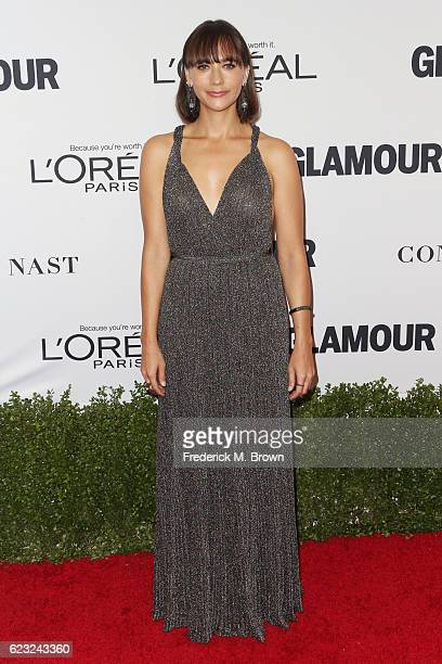 Actress Rashida Jones attends Glamour Women Of The Year 2016 at NeueHouse Hollywood on November 14 2016 in Los Angeles California