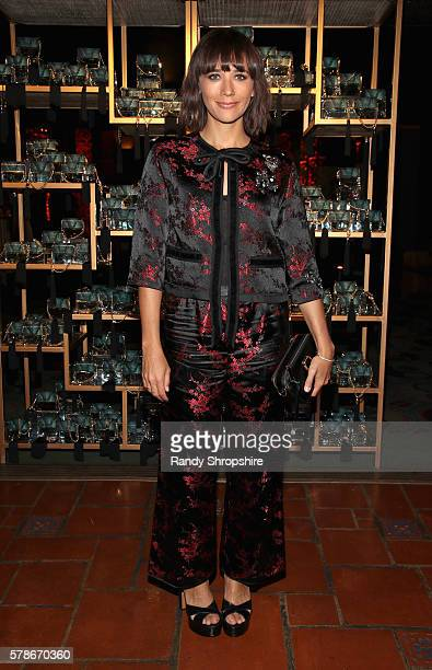 Actress Rashida Jones attends Marc Jacobs celebrates Divine Decadence on July 21 2016 in Los Angeles California