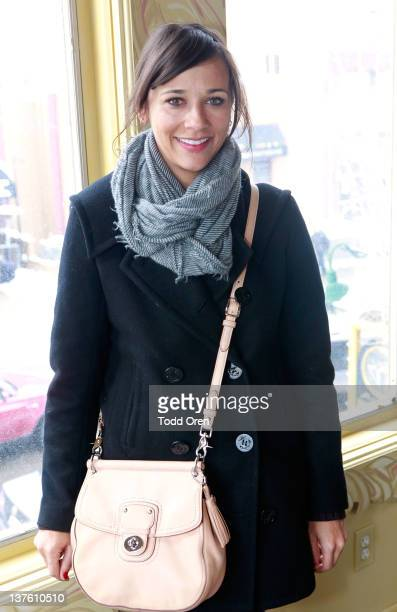 Actress Rashida Jones attends the 2012 Alumni Advisory Board lunch during the 2012 Sundance Film Festival held at Cafe Terigo on January 23 2012 in...