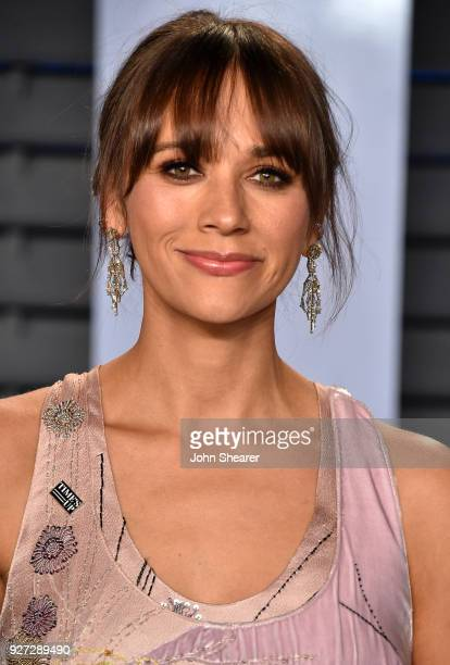 Actress Rashida Jones attends the 2018 Vanity Fair Oscar Party hosted by Radhika Jones at Wallis Annenberg Center for the Performing Arts on March 4...