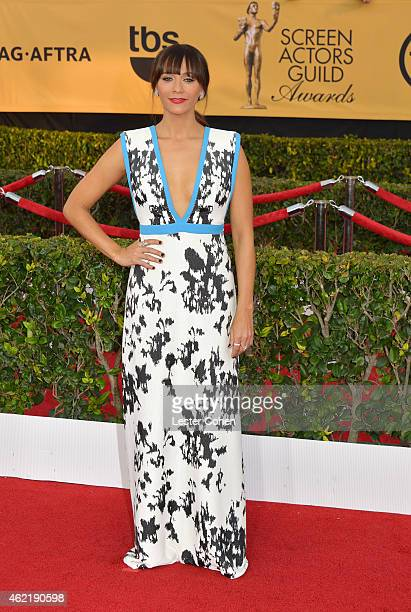 Actress Rashida Jones attends the 21st Annual Screen Actors Guild Awards at The Shrine Auditorium on January 25 2015 in Los Angeles California