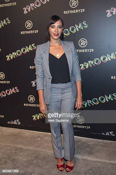 Actress Rashida Jones attends the 2nd Annual Refinery29 29Rooms Powered By People on September 8 2016 in New York City