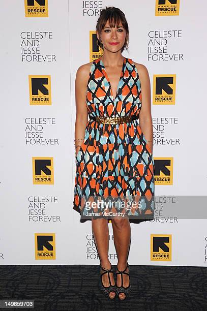 Actress Rashida Jones attends the Celeste And Jessie New York Premiere at Sunshine Landmark on August 1 2012 in New York City
