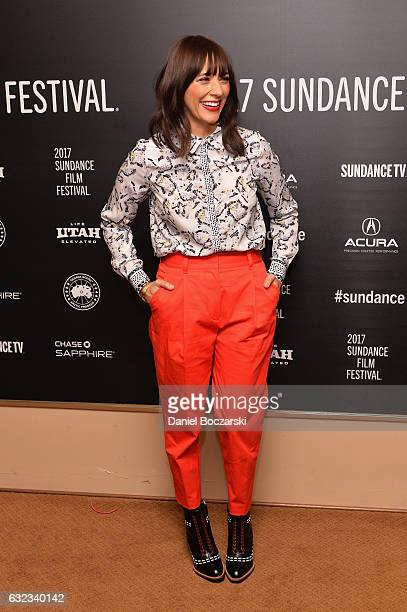 Actress Rashida Jones attends the Docuseries Showcase on day 3 of the 2017 Sundance Film Festival at Egyptian Theatre on January 21 2017 in Park City...