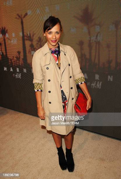 Actress Rashida Jones attends the Marni at H&M Collection Launch at Lloyd Wright's Sowden House on February 17, 2012 in Los Angeles, California.