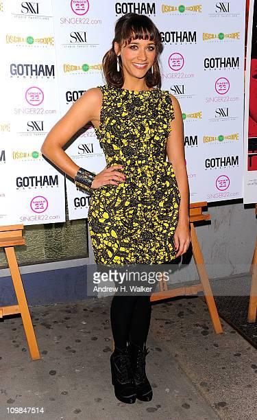 Actress Rashida Jones attends the New York screening of Monogamy at the IFC Center on March 7 2011 in New York City