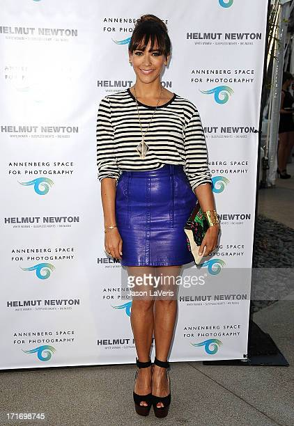 Actress Rashida Jones attends the opening of Helmut Newton White Women Sleepless Nights Big Nudes at Annenberg Space For Photography on June 27 2013...