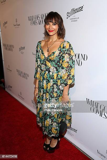 Actress Rashida Jones attends the opening of What Goes Around Comes Around on October 13 2016 in Beverly Hills California