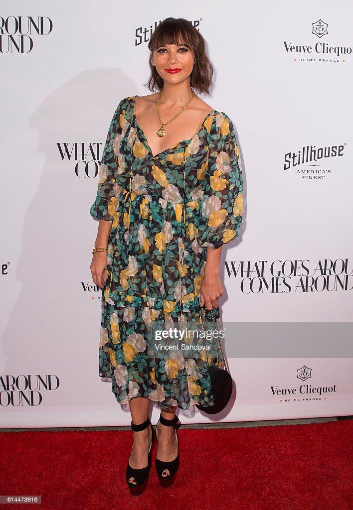 Actress Rashida Jones attends the opening of 'What Goes Around Comes Around' at What Goes Around Comes Around on October 13, 2016 in Beverly Hills, California.