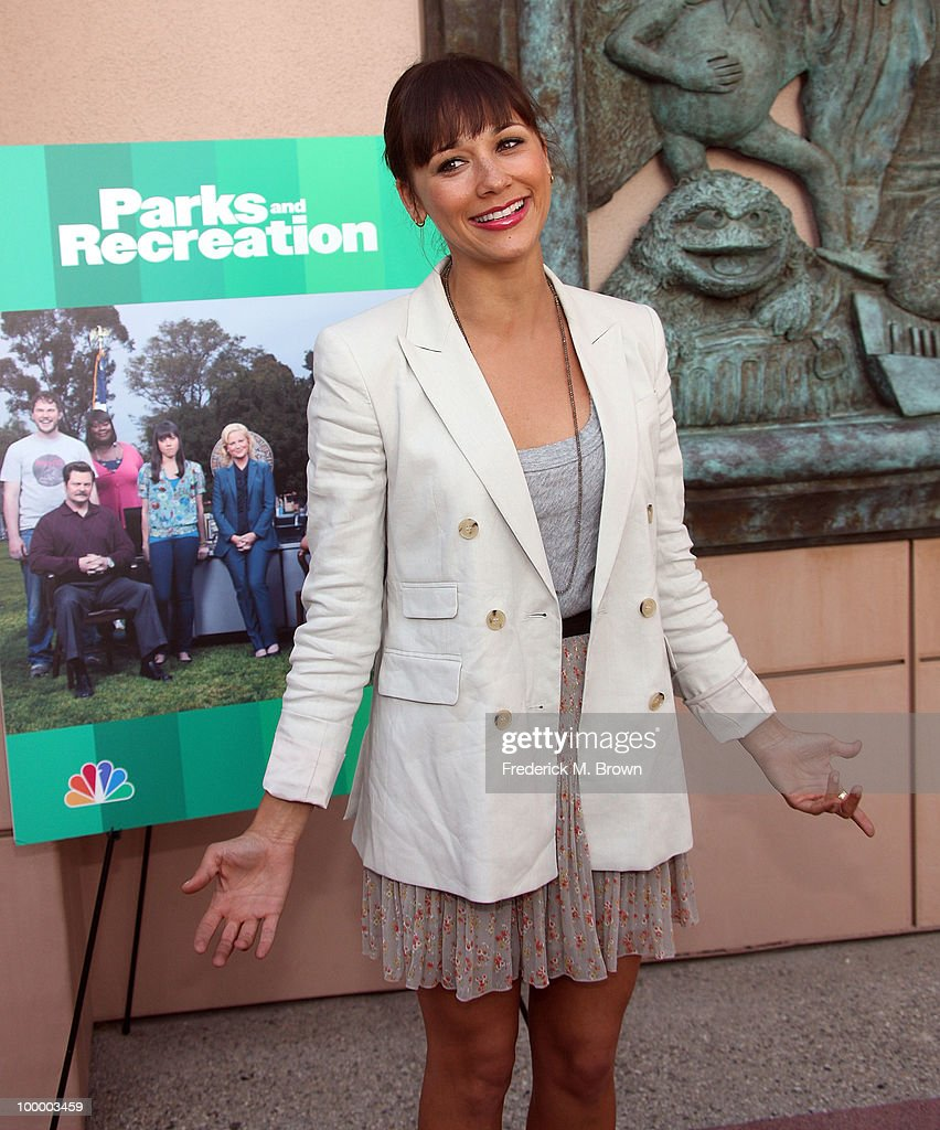 Actress Rashida Jones attends the screening of 'Parks and Recreation' at the Leonard H. Goldenson Theatre on May 19, 2010 in North Hollywood, California.