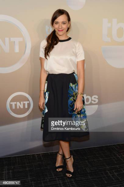 Actress Rashida Jones attends the TBS / TNT Upfront 2014 at The Theater at Madison Square Garden on May 14, 2014 in New York City. 24674_002_0391.JPG