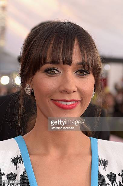 Actress Rashida Jones attends TNT's 21st Annual Screen Actors Guild Awards at The Shrine Auditorium on January 25 2015 in Los Angeles California...
