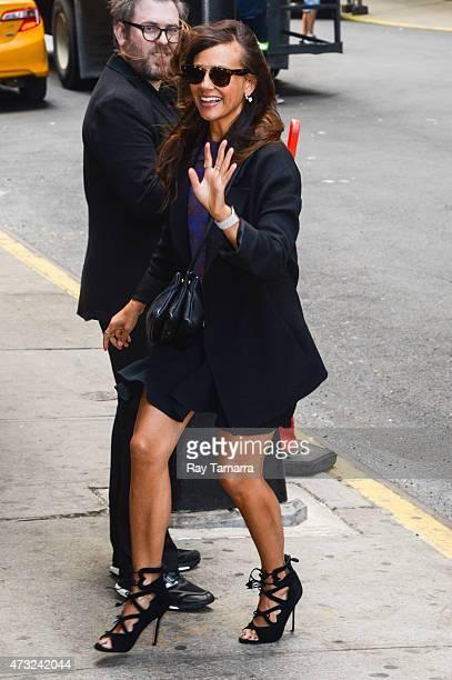 Actress Rashida Jones enters the Tao Lounge on May 13 2015 in New York City