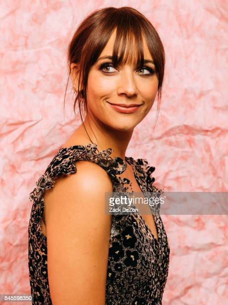 Actress Rashida Jones poses for a portrait during the Daily Front Row's Fashion Media Awards at Four Seasons Hotel New York Downtown on September 8,...