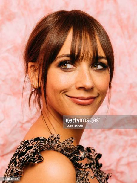 Actress Rashida Jones poses for a portrait during the Daily Front Row's Fashion Media Awards at Four Seasons Hotel New York Downtown on September 8...