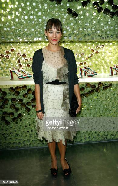 Actress Rashida Jones wearing Prada attends the Los Angeles screening of Trembled Blossoms presented by Prada on March 19 2008 in Beverly Hills...