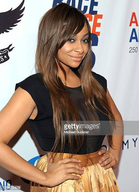 Actress Raven Symone arrives at the 18th Annual Race to Erase MS event co-chaired by Nancy Davis and Tommy Hilfiger at the Hyatt Regency Century...